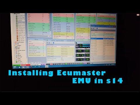 IT FINALLY RUNS ON THE EMU (Ecumaster EMU 1jz vvti s14)