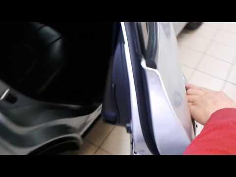 Nissan Murano (Ниссан Мурано): Как открыть заднюю пассажирскую дверь