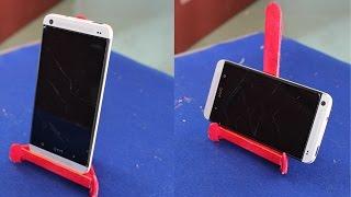 getlinkyoutube.com-Cara membuat pemegang smartphone | stik es krim