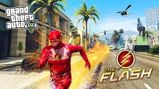 getlinkyoutube.com-GTA 5 PC Mods - THE FLASH MOD w/ SUPER SPEED! GTA 5 The Flash Mod Gameplay! (GTA 5 Mods Gameplay)