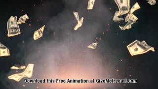getlinkyoutube.com-Free Money Animation Background