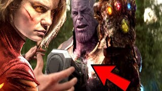 Avengers 4 Thanos Is Dying REVEALED!? Captain Marvel During Infinity War Finally Explained! width=