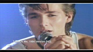 getlinkyoutube.com-A-ha - Take On Me - 1984 1. Version [HD] Excellent Quality
