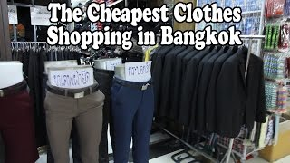 The Cheapest Clothes Shopping in Bangkok: Bobae Market. A Tour of Bobae Tower & Bo Bae Market