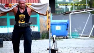 getlinkyoutube.com-FA Xtreme Team - Andrzej Zieleniecki - Treening strongman