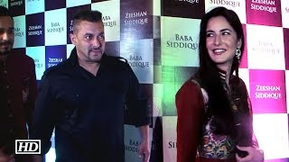 Salman attends Baba Siddique's Iftaar party with  Katrina | Don't Miss