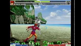 getlinkyoutube.com-MUGEN KOF Orochi Shermie Vs Kelly Basinger
