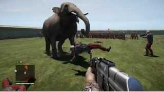 getlinkyoutube.com-Far Cry 4 - 1 Elephant vs. 100 Soldiers
