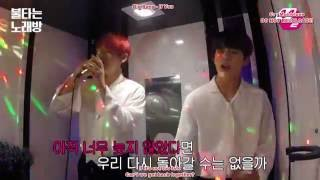 getlinkyoutube.com-[ENGSUB] TAEHYUNG JUNGKOOK BTS IF YOU @ M2 Burning Karaoke