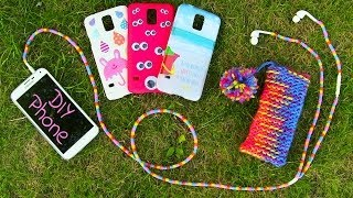 getlinkyoutube.com-DIY 10 Easy Phone Projects. DIY Phone (Case, Pouch & More)