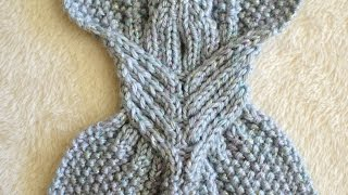 getlinkyoutube.com-How to Knit Right and Left Leaning Cables