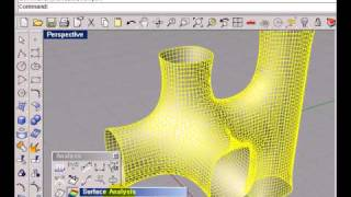getlinkyoutube.com-Smooth on mesh object / Rhino3d