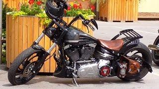 getlinkyoutube.com-Custom Harley Davidson FXSB Softail Breakout
