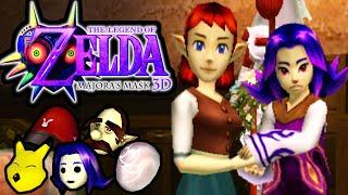 The Legend of Zelda Majora's Mask 3DS Gameplay Walkthrough Anju & Kafei Quest Masks PART 22 Nintendo