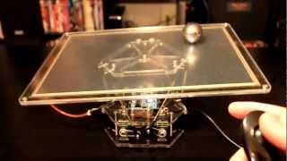 getlinkyoutube.com-Ball and Plate PID control with 6 DOF Stewart platform