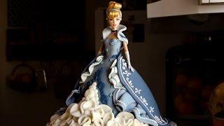 getlinkyoutube.com-How to Make a Cinderella Cake | Become a Baking Rockstar