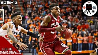 getlinkyoutube.com-Buddy Hield Full Highlights vs Oklahoma State (1-13-16) 26 Points 7 Rebounds THRILLER