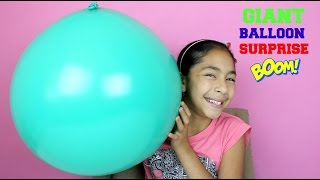 getlinkyoutube.com-GIANT BALLOON SURPRISE Frozen Lalaloopsy Hello Kitty Shopkins Harry Poter Tokidoki Surprises B2cutec