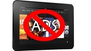 getlinkyoutube.com-Kindle Fire HD: How to Remove the Ads   H2TechVideos