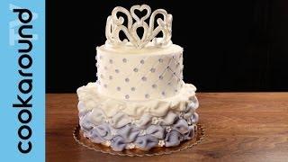 getlinkyoutube.com-Una torta da principessa con pasta di zucchero: tutorial!