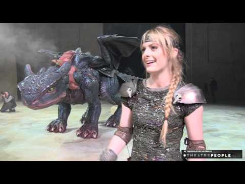 Never Before Seen Footage: How to Train Your Dragon Arena Spectacular