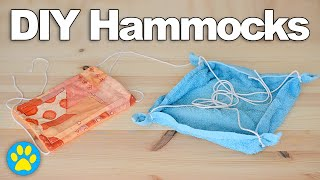 getlinkyoutube.com-2 DIY Hamster Hammocks | #DIYJuly