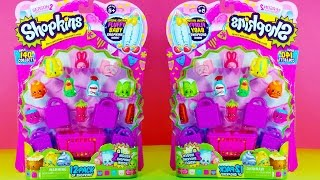 getlinkyoutube.com-Shopkins Season 2 - 12 Pack Toy Opening with 2 Surprise - Special Fluffy Baby Limited Edition