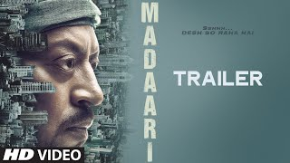 MADAARI Official Trailer 2016 | Irrfan Khan, Jimmy Shergill | T-Series