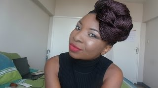 getlinkyoutube.com-How To Style Senegalese Twists | T O N D I E