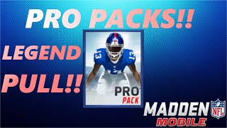 getlinkyoutube.com-BEST PRO PACK OPENING! LEGEND PULL!! CAN'T BELIEVE IT!! Madden Mobile