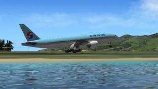 getlinkyoutube.com-MiSO X-Plane Grenada MauriceBishop Intl Airport