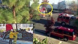 getlinkyoutube.com-Paul Walker Dies car crash - Paul Porsche Car on fire caught on camera [RAW FOOTAGE] 2013
