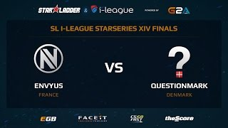 EnVyUS vs. QuestionMark (SL i-League StarSeries XIV LAN FINALS)