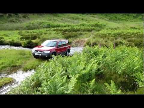 2002 Ford Maverick - driving thru a burn