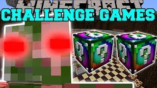 Minecraft: ZOMBIE PIGMAN TITAN CHALLENGE GAMES - Lucky Block Mod - Modded Mini-Game