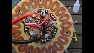 getlinkyoutube.com-Electric motor 11.5kW test run