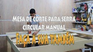 getlinkyoutube.com-Mesa de corte para serra circular manual / Review.