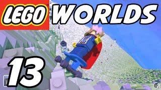 getlinkyoutube.com-LEGO Worlds - E13 - INSANE SKATEBOARDING!! (Gameplay Playthrough 1080p60)