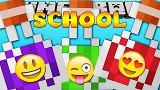 getlinkyoutube.com-Minecraft School  : FUNNY POTIONS TEST!