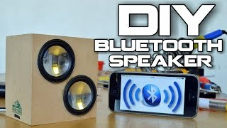 getlinkyoutube.com-DIY Bluetooth Speaker for 5$