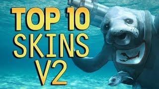 getlinkyoutube.com-Top 10 Skins v2 - League of Legends