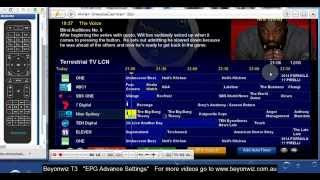 getlinkyoutube.com-Beyonwiz T3 Advanced EPG Settings