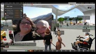 "getlinkyoutube.com-Second Life Trolling "" Combustication  fat slob of second life"