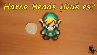 getlinkyoutube.com-Hama Beads ¿Qué es? -  Link de The Legend of Zelda