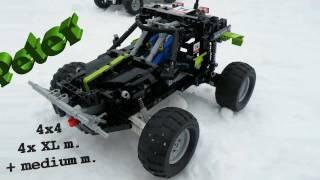 getlinkyoutube.com-Lego Technic Rally - Rally White Hill