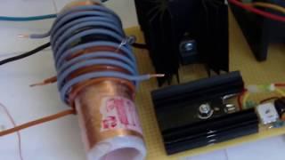 getlinkyoutube.com-Mini kapanadze resonator - output 230VAC 2kW