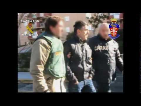 OPERACIÓN CAMORRA NAPOLITANA. La Guardia Civil detiene en la Costal del Sol a un peligroso miembro de la camorra napolitana.