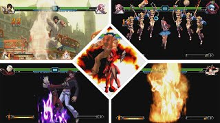 The King of Fighters XIII | All characters NeoMAX | MAX CANCEL | KOF XIII