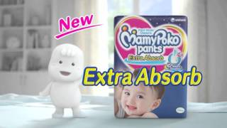 getlinkyoutube.com-Unicharm MamyPoko Pants Commercial 2015 – Cricket – English