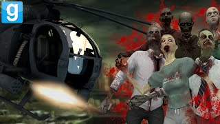 getlinkyoutube.com-HELICOPTER VS ZOMBIE APOCALYPSE | Gmod Custom Adventure (Zombies Mod, Helicopter Mod, Apocalypse)